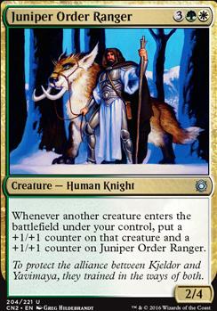 Conspiracy - Take the Crown Foil: Juniper Order Ranger