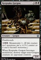 Conspiracy - Take the Crown Foil: Keepsake Gorgon