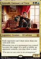 Conspiracy - Take the Crown Foil: Leovold, Emissary of Trest