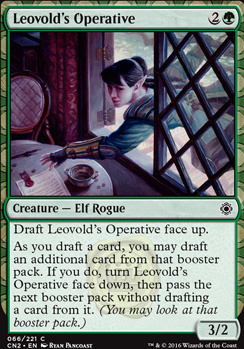 Conspiracy - Take the Crown Foil: Leovold's Operative