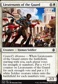 Conspiracy - Take the Crown Foil: Lieutenants of the Guard