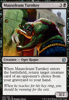 Conspiracy - Take the Crown Foil: Mausoleum Turnkey