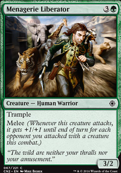 Conspiracy - Take the Crown Foil: Menagerie Liberator