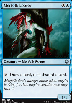 Conspiracy - Take the Crown Foil: Merfolk Looter