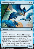 Conspiracy - Take the Crown Foil: Messenger Jays