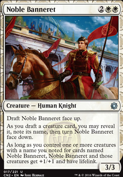 Conspiracy - Take the Crown Foil: Noble Banneret