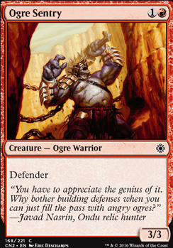 Conspiracy - Take the Crown Foil: Ogre Sentry