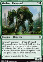 Conspiracy - Take the Crown Foil: Orchard Elemental