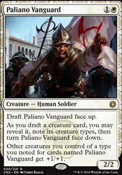 Conspiracy - Take the Crown Foil: Paliano Vanguard