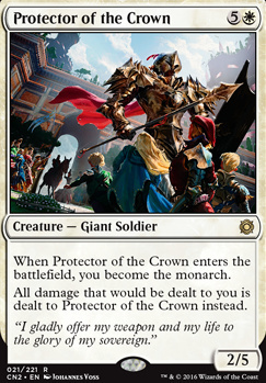 Conspiracy - Take the Crown Foil: Protector of the Crown