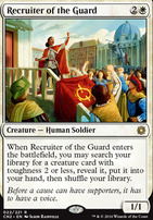 Conspiracy - Take the Crown Foil: Recruiter of the Guard