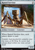 Conspiracy - Take the Crown Foil: Runed Servitor