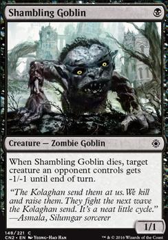 Conspiracy - Take the Crown Foil: Shambling Goblin