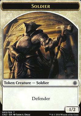 Conspiracy - Take the Crown: Soldier Token (003)