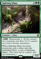 Conspiracy - Take the Crown Foil: Splitting Slime