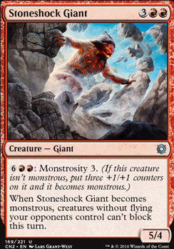 Conspiracy - Take the Crown Foil: Stoneshock Giant