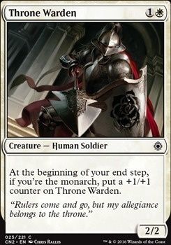 Conspiracy - Take the Crown Foil: Throne Warden