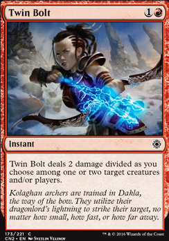 Conspiracy - Take the Crown Foil: Twin Bolt