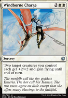 Conspiracy - Take the Crown Foil: Windborne Charge
