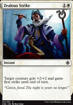 Conspiracy - Take the Crown Foil: Zealous Strike