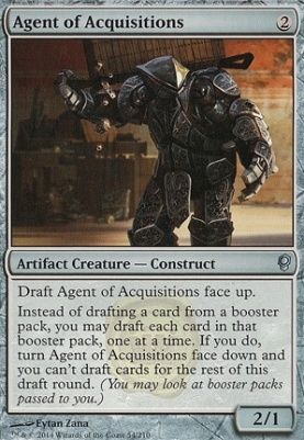 Conspiracy Foil: Agent of Acquisitions