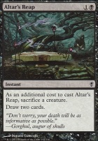 Conspiracy Foil: Altar's Reap