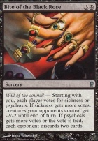 Conspiracy Foil: Bite of the Black Rose