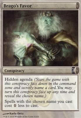 Conspiracy Foil: Brago's Favor