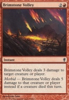 Conspiracy Foil: Brimstone Volley