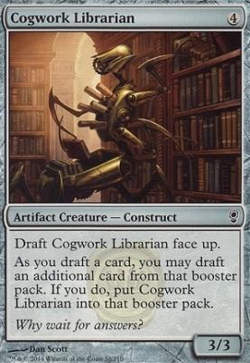 Conspiracy: Cogwork Librarian