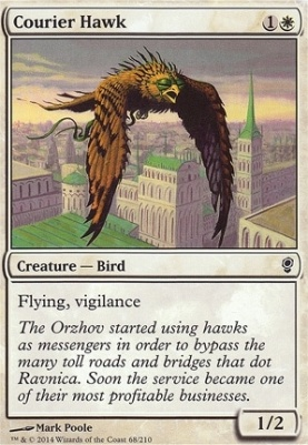 Conspiracy Foil: Courier Hawk