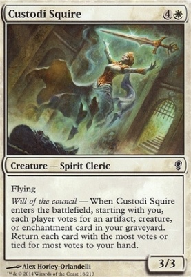 Conspiracy: Custodi Squire