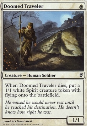 Doomed Traveler Conspiracy Foil Card Kingdom Need some cards from today's video? doomed traveler conspiracy foil