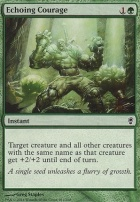 Conspiracy Foil: Echoing Courage