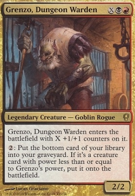 Conspiracy: Grenzo, Dungeon Warden