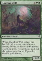Conspiracy Foil: Howling Wolf