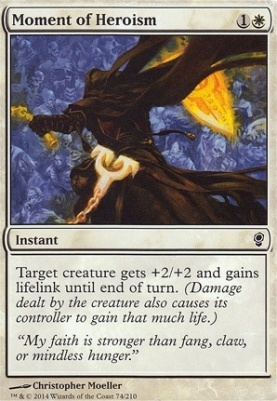 Conspiracy Foil: Moment of Heroism
