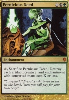Conspiracy Foil: Pernicious Deed