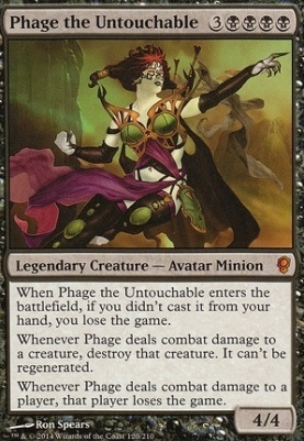 Conspiracy Foil: Phage the Untouchable