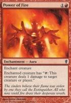 Conspiracy Foil: Power of Fire