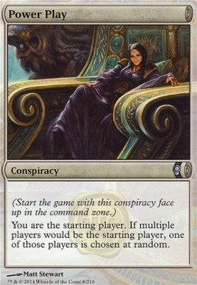 Conspiracy Foil: Power Play