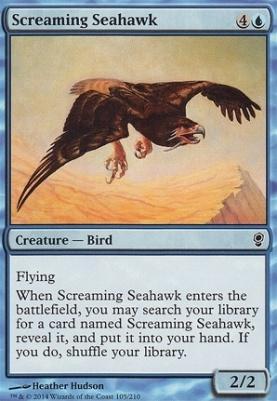 Conspiracy Foil: Screaming Seahawk