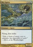 Conspiracy Foil: Sky Spirit