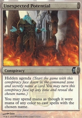 Conspiracy Foil: Unexpected Potential