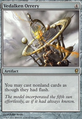 Conspiracy Foil: Vedalken Orrery