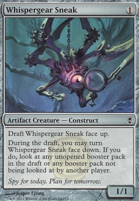 Conspiracy Foil: Whispergear Sneak