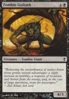 Conspiracy Foil: Zombie Goliath