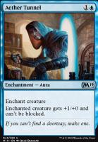 Core Set 2019 Foil: Aether Tunnel
