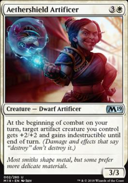 Core Set 2019: Aethershield Artificer