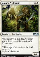 Core Set 2019 Foil: Ajani's Pridemate